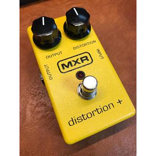 ボス(BOSS)のMXR Distortion + ディストーションプラス(エフェクター)