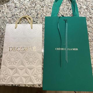 ドゥラメール(DE LA MER)の新品 ドゥラメール コスメデコルテ ショッパー ショップ袋 限定 リボン ポーチ(ショップ袋)