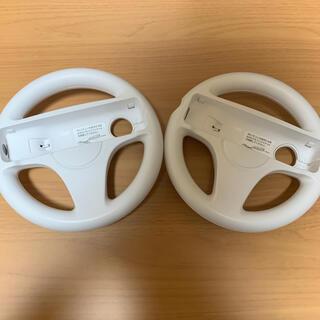 Wii - Wii マリオカート ハンドル 2個セット