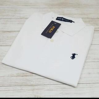 POLO RALPH LAUREN - 新品✩ ポロラルフローレン ポロシャツ ホワイト Lサイズ #1
