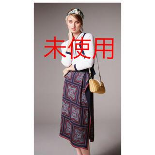 ANAYI - 【未使用】アナイ スカーフパネルPTラップ風スカート