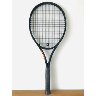 ウィルソン(wilson)の【新品】ウィルソン『バーン 100S CV ブラックエディション』テニスラケット(ラケット)