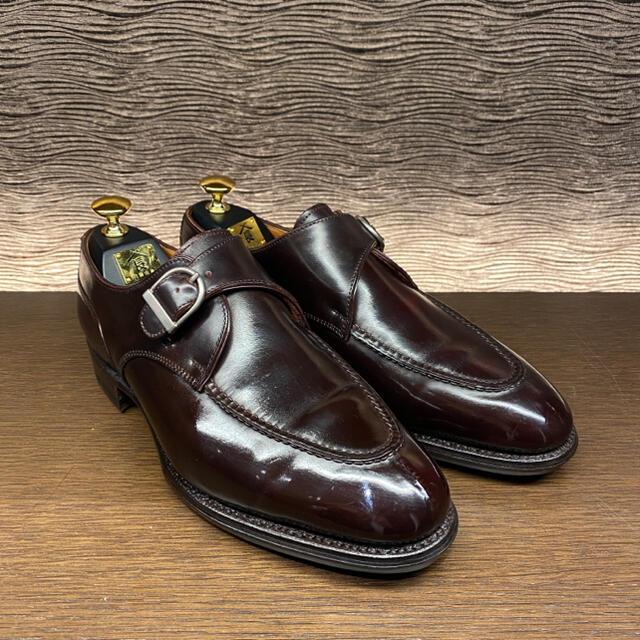 JOHN LOBB(ジョンロブ)の【オーダー品 定価28.5万】コードバン ハンドソーン スキンステッチ 三陽山長 メンズの靴/シューズ(ドレス/ビジネス)の商品写真