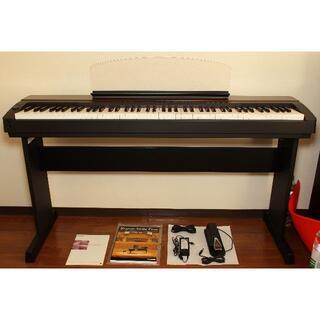 ヤマハ(ヤマハ)のYAMAHA 電子ピアノP-155 専用スタンド(L-140)付き(電子ピアノ)