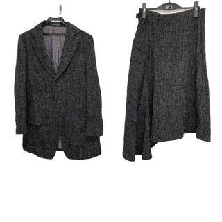 ヨウジヤマモト(Yohji Yamamoto)のヨウジヤマモト スカートスーツ サイズ2 M(スーツ)