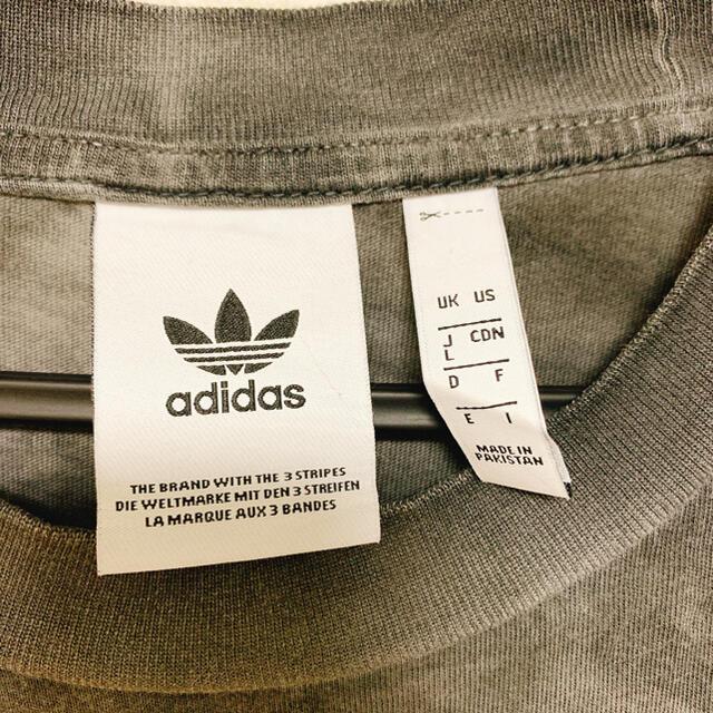 adidas(アディダス)の【アディダス】メンズ Tシャツ Lサイズ 美品 メンズのトップス(Tシャツ/カットソー(半袖/袖なし))の商品写真