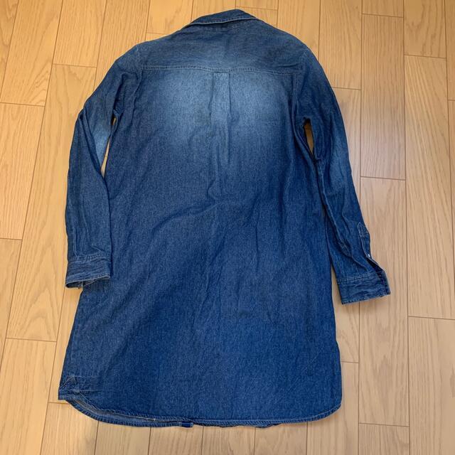CECIL McBEE(セシルマクビー)のCECIL DAYS デニム シャツ ワンピース レディースのワンピース(ひざ丈ワンピース)の商品写真