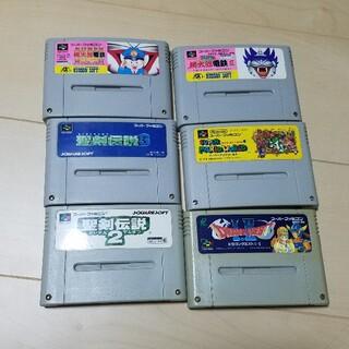 スーパーファミコン(スーパーファミコン)のスーパーファミコン ジャンク(家庭用ゲームソフト)