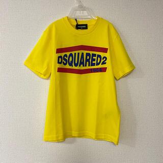 ディースクエアード(DSQUARED2)の新品 DSQUARED2 8A 半袖Tシャツ イエロー(Tシャツ/カットソー)