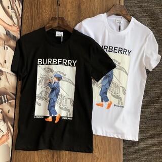 ☆2枚8000円☆新品TシャツBurberry441#男女兼用(バーバリー)半袖