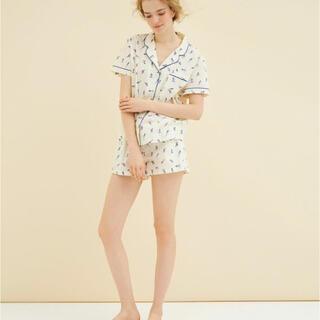 PEACH JOHN - PEACH JOHN PJ ROOM/コットンサマーシャツパジャマ 上下セット