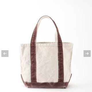 L'Appartement DEUXIEME CLASSE -  【L.L.Bean  】Canvas Small Tote Bag