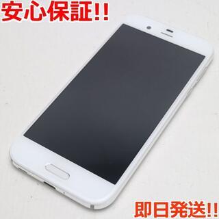 アクオス(AQUOS)の美品 SH-03J AQUOS R ホワイト 白ロム(スマートフォン本体)