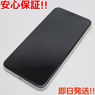 アイフォーン(iPhone)の超美品 SIMフリー iPhone 11 Pro Max 256GB シルバー (スマートフォン本体)