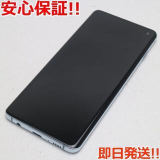 ギャラクシー(Galaxy)の美品 SIMロック解除済 SC-03L Galaxy S10 プリズムブルー (スマートフォン本体)
