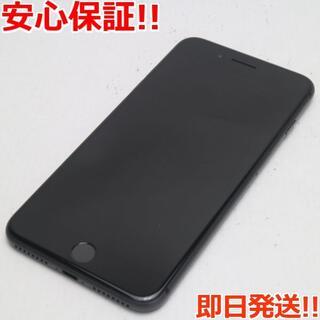 アイフォーン(iPhone)の美品 au iPhone8 PLUS 64GB スペースグレイ (スマートフォン本体)