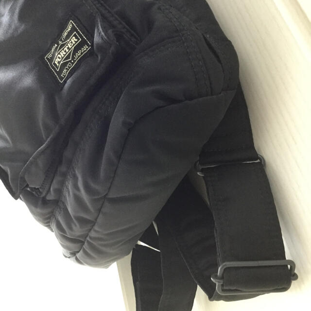 PORTER(ポーター)のポーター タンカー  リュック ブラック メンズのバッグ(バッグパック/リュック)の商品写真