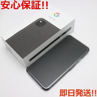 アンドロイド(ANDROID)の新品 SoftBank Google Pixel 4a (5G)  ブラック(スマートフォン本体)
