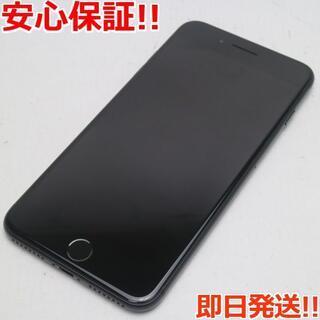 アイフォーン(iPhone)の新品同様 SIMフリー iPhone7 PLUS 256GB ブラック(スマートフォン本体)