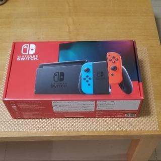ニンテンドースイッチ(Nintendo Switch)のNintendo Switch スイッチ 本体 ネオンブルー ネオンレッド 新品(家庭用ゲーム機本体)