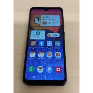 ギャラクシー(Galaxy)のau Galaxy A20 SIMロック解除(スマートフォン本体)