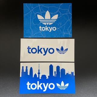 アディダス(adidas)のアディダス ステッカー&絵はがきセット(ノベルティグッズ)