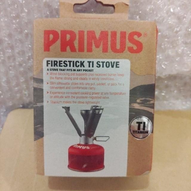 PRIMUS(プリムス)のPRIMUS Firestick Ti Stove(日本未発売 新品未使用) スポーツ/アウトドアのアウトドア(ストーブ/コンロ)の商品写真