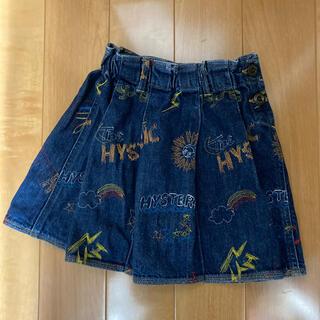ヒステリックグラマー(HYSTERIC GLAMOUR)のヒスグラ120スカート(スカート)