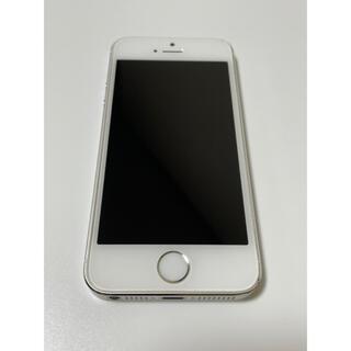 iPhone - iPhone 5s 32GB シルバー SIMフリー
