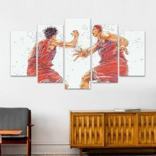 スラムダンク 絵画 フレーム装飾画 壁飾り ポスター