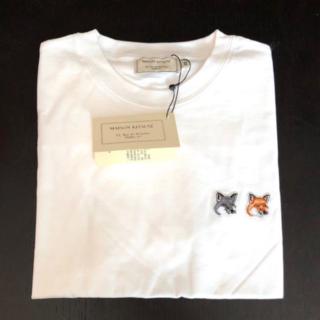 MAISON KITSUNE' - 【M】AISON KITSUNEメゾン キツネ ダブルフォックスヘッド Tシャツ