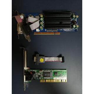 アイオーデータ(IODATA)のグラボ GeForce 6200A (IO-DATA), LANカード他 PCI(PC周辺機器)