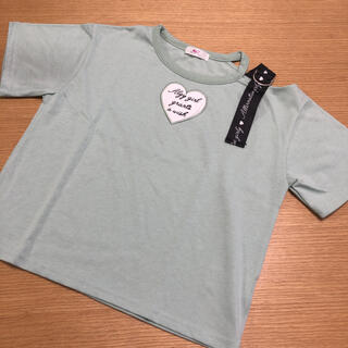 lovetoxic - 美品★アルジー Tシャツ 140  グリーン