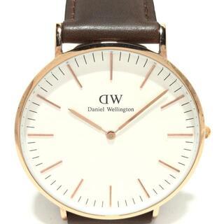 ダニエルウェリントン(Daniel Wellington)のダニエルウェリントン 腕時計 メンズ 白(その他)