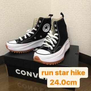 CONVERSE - Converse ブラック Run Star Hike 24cm