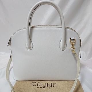 celine - CELINE 2Way ショルダーバッグ ハンドバッグ