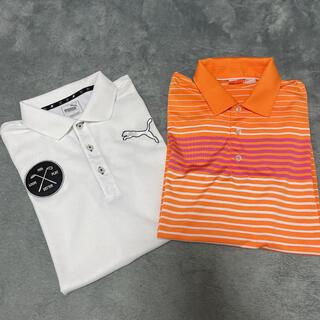PUMA - プーマ ゴルフ ポロシャツ 2枚セット メンズ