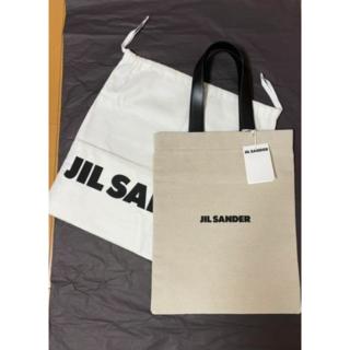 Jil Sander - 正規品★JIL SANDER ロゴ トート/ジルサンダー フラットショッパー