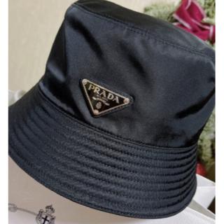PRADA - 人気新品 リバーシブル プラダ ナイロン ハット 帽子 黒#16