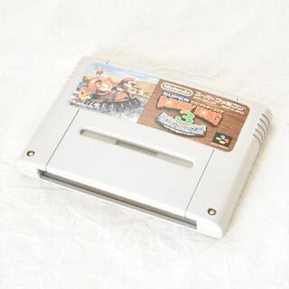 スーパーファミコン(スーパーファミコン)のスーパーファミコン/スーパードンキーコング3 謎のクレミス島/38(家庭用ゲームソフト)