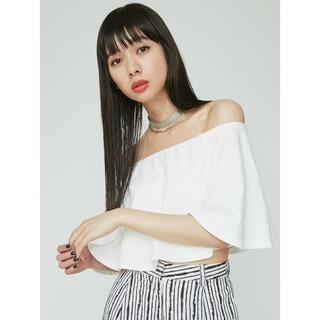 EMODA - 新品★EMODA★フレアカットトップス★オフショルダー★エモダ★