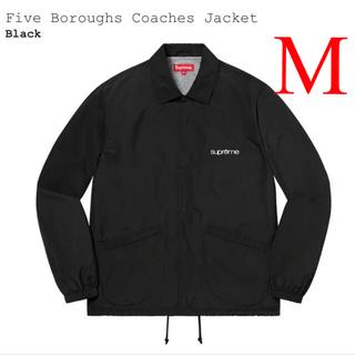 Supreme - Supreme Five Boroughs Coaches Jacket 黒 M