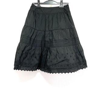 ルネ(René)のルネ ロングスカート サイズ38 M - 黒(ロングスカート)
