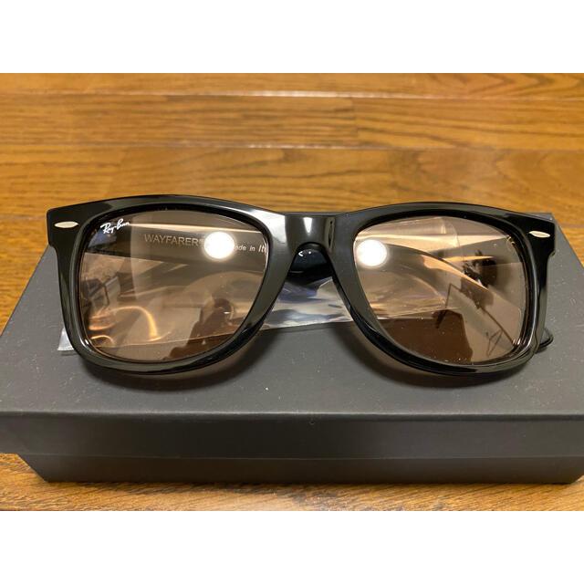 Ray-Ban(レイバン)のRAY-BAN 木村拓哉 WAYFARER ライトオレンジ キムタク メンズのファッション小物(サングラス/メガネ)の商品写真