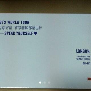 少し訳あり【Blu-ray】LONDON BTS WORLD TOUR