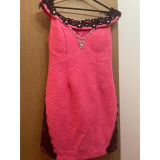 dazzy store - ピンク ミニドレス キャバドレス