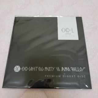 エクソ(EXO)のEXO greeting party in Japan HELLO! DVD(アイドルグッズ)