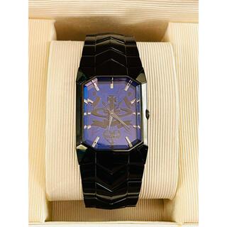 ヴィヴィアンウエストウッド(Vivienne Westwood)のヴィヴィアンウエストウッド オクタゴン ウォッチ ブラック 美品(腕時計(アナログ))