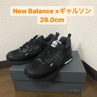 New Balance - 【新品】コム デ ギャルソン オム × ニューバランス 574I ブラック