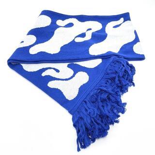 OFF-WHITE - オフホワイト OMMA001  ブルースプレー マフラー ブルー